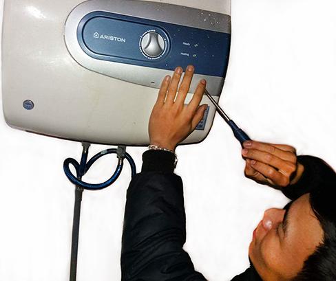 Sửa bình nóng lạnh tại nhà huyện Đan Phượng