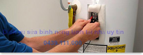Dịch vụ sửa bình nóng lạnh tại nhà uy tín