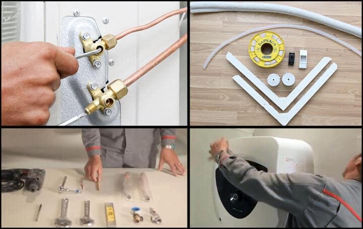 Quy trình lắp đặt máy nóng lạnh tại nhà